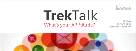 TREKTALK: What's your APPtitude