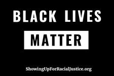 SURJ PDX Black Lives Matter Action Group logo
