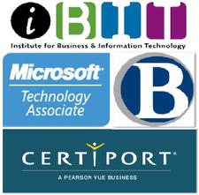 Bellevue College iBIT in Partnership with Microsoft & Certiport logo