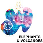 Elephants & Volcanoes  logo