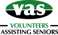 VAS (Volunteers Assisting Seniors)  logo