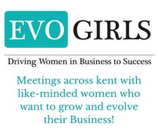 Rebecca Robertson Evo Girls Network logo