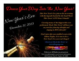 'Rock This Town' 2013 New Year's Eve Party