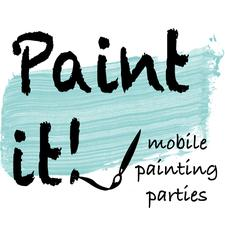 Paint it! Mobile Painting Parties logo