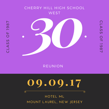 CH West 30th Reunion Committee logo
