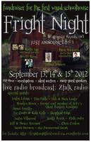 Fright Night Fundraiser at First Ward School House...