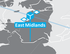 East Midlands Centre of Excellence in Satellite Applications logo