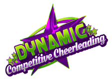 Dynamic Competitive Cheerleading logo