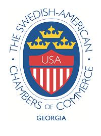 Swedish-American Chamber of Commerce Georgia logo