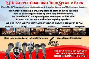 Speak 2 Earn Houston Tickets, Sat, Jul 22, 2017 at 10:00 AM | Eventbrite