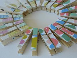 Be creative: Little boxes and mini pegs - Watsons Bay Library...