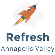Refresh Annapolis Valley logo