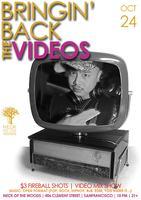 Bringin' Back the VIDEOS!