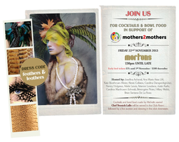 Feathers and Leathers Party at Morton's club in...