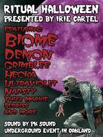 Ritual Halloween Oakland Underground: Biome, Demon,...