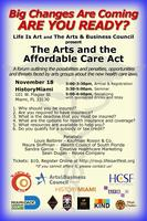The Arts and the Affordable Care Act Seminar