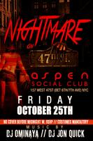 A Nightmare on 47th St. (Pre Halloween Costume Party)
