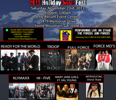 2013 Holiday Soul Fest Tour (Atlanta)
