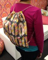 Kids' Sewing: Drawstring Backpacks
