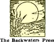 The Backwaters Press logo
