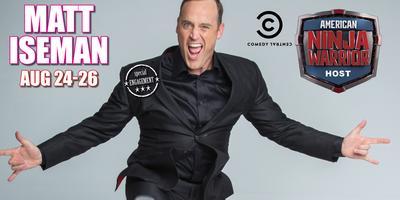 Comedian Matt Iseman host of American Ninja Warrior...