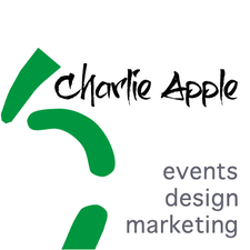 Charlie Apple Events, Design & Marketing logo