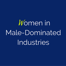 Women in Male-Dominated Industries logo