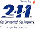 2-1-1 Tampa Bay Cares, Inc. logo