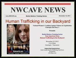 Human Trafficking in Our Backyard