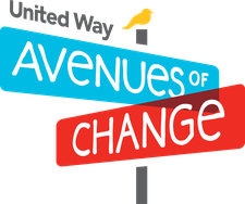 United Way Avenue of Change (Coquitlam River) logo