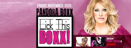 Lick This Boxx Comedy Show with Pandora Boxx!