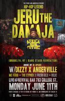 Jeru The Damaja Live in Toronto