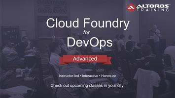 TRAINING in Toronto: Cloud Foundry for DevOps -...