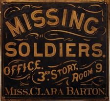 Clara Barton Missing Soldiers Office Museum logo