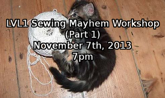 November Fabric Hacking Extravaganza (Part 1)