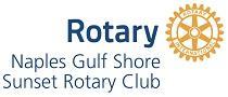 Naples Gulf Shore Sunset Rotary Club logo