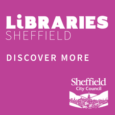 Libraries Sheffield logo