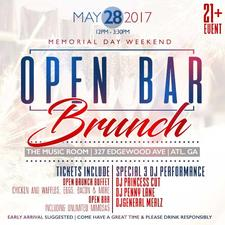 Open Bar Brunch ATL logo