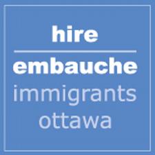 Hire Immigrants Ottawa (HIO) logo