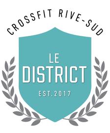 Gym Le District - CrossFit Rive-Sud logo