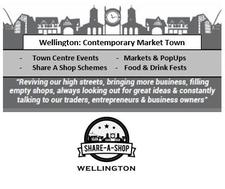 Wellington Town Centre Revival logo