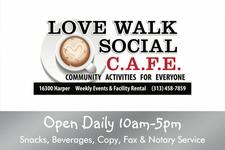 Love Walk Social Cafe logo