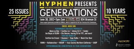 Hyphen magazine Presents 25 Issues, 10 Years