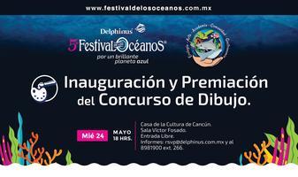 Inauguración y premiación del Concurso de dibujo.