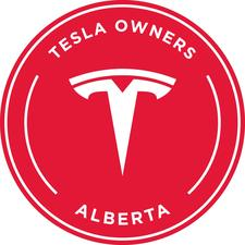 Tesla Owners Club of Alberta logo