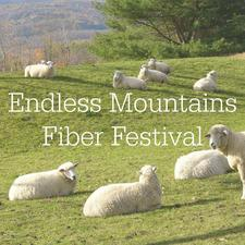 Endless Mountains Fiber Festival logo