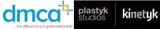 Adam Griffiths, dmca & Andre Biganovsky, Plastyk Studios - Kinetyk logo