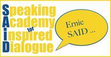 Ernie Boxall: Fay Lochore: Roger Greasby logo
