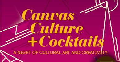 Canvas Culture +Cocktails : Naturally Beautiful Art