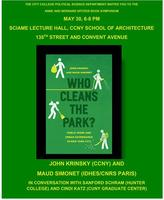 Who Cleans the Park Book Launch